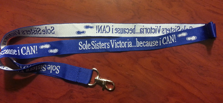Sole Sisters Lanyards