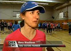 Sole Sisters on CHEK TV